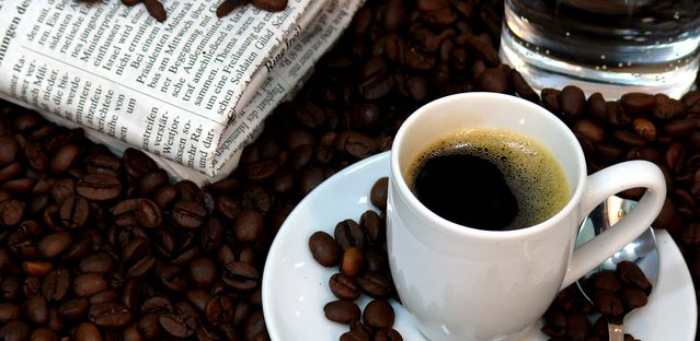 Context can help language learners in familiar situations abroad, like the coffee shop