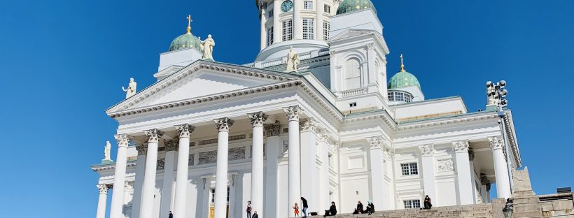 Finnish in Finland : the Lutheran Cathedral in Helsinki