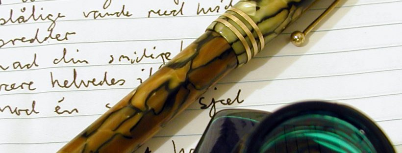 The best cure for digital fatigue - paper and pen. Image from freeimages.com.