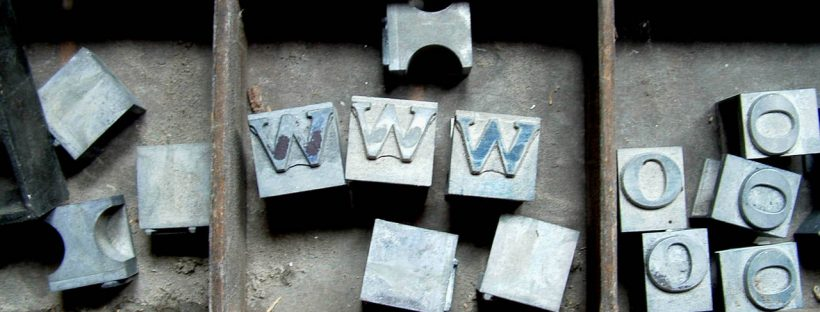 Printing letters. Image from freeimages.com