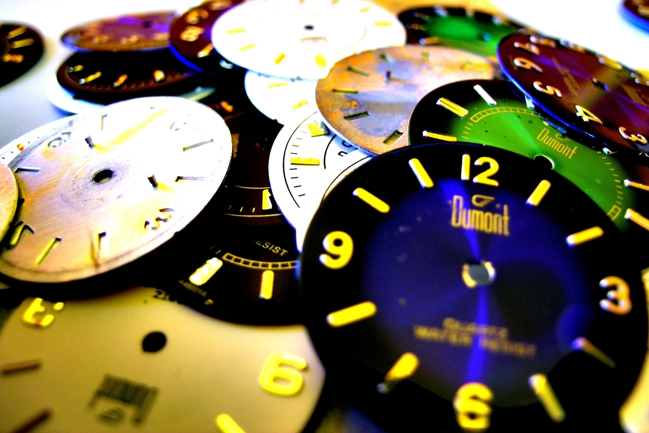 Multiple clocks - and multiple ways of telling the time - require maths. Picture by Odan Jaeger, FreeImages.com